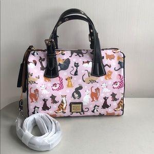 Dooney Disney Cats Satchel / Crossbody Bag